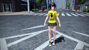 310【PSO2 レイヤリング】しまむらTシャツ2F[Ba]