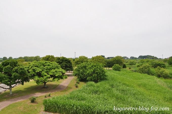 谷中湖の展望台4