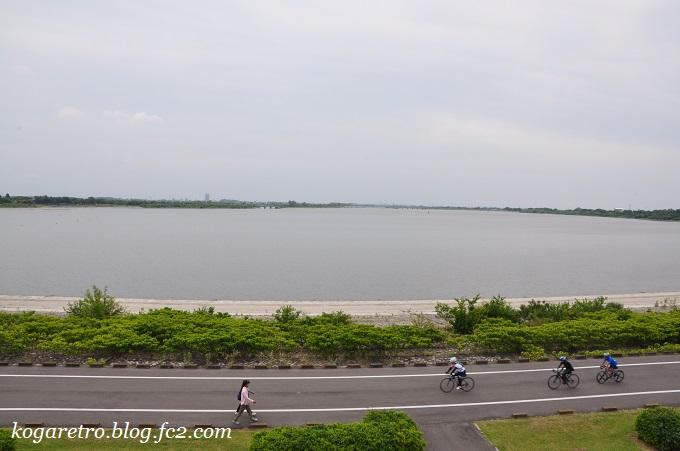 谷中湖の展望台3