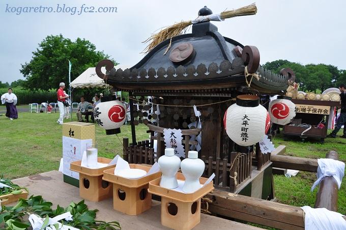 谷中村の神輿2