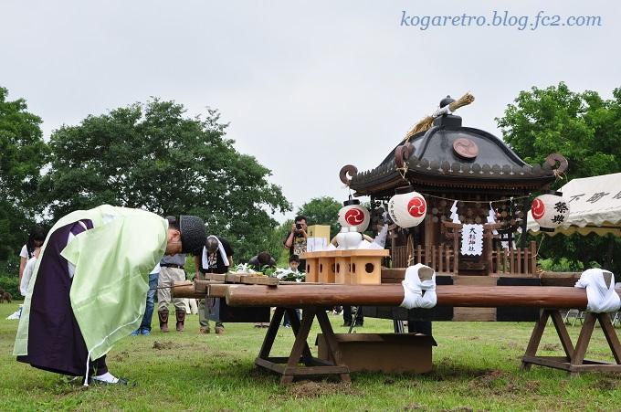 谷中村の神輿6