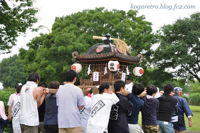 谷中村の神輿7
