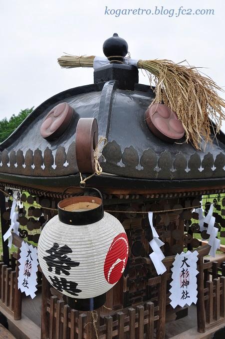 谷中村の神輿
