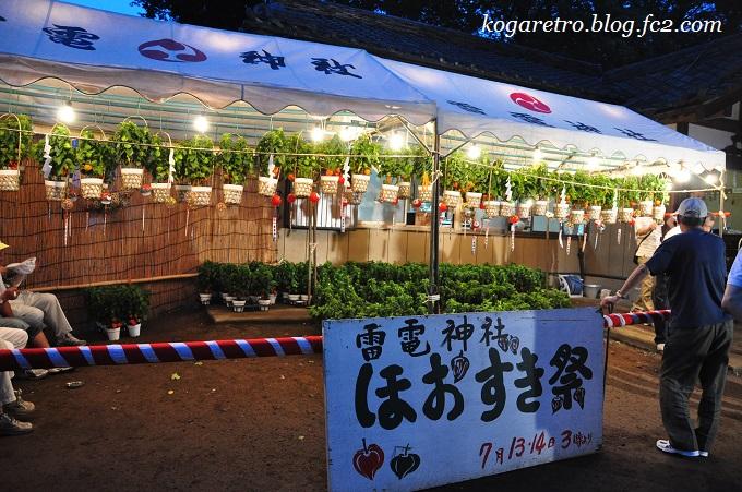 雷電神社ほおずき祭