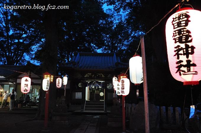 雷電神社ほおずき祭5