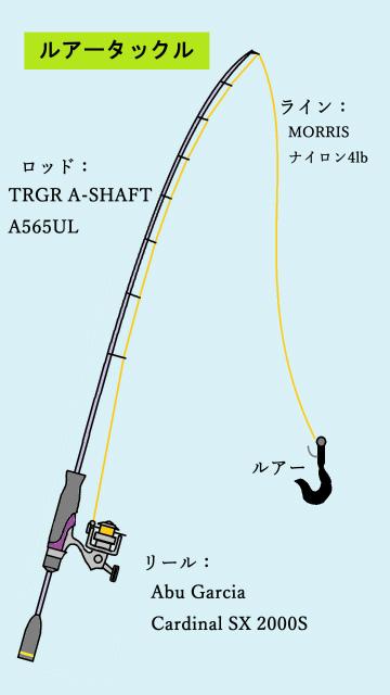 A565ULタックル完成ss