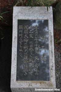 浅間神社(笛吹市一宮町一ノ宮)34