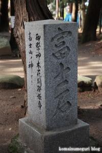 浅間神社(笛吹市一宮町一ノ宮)48