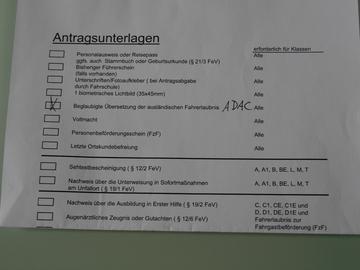 ドイツの自動車免許でちゅ~♪3