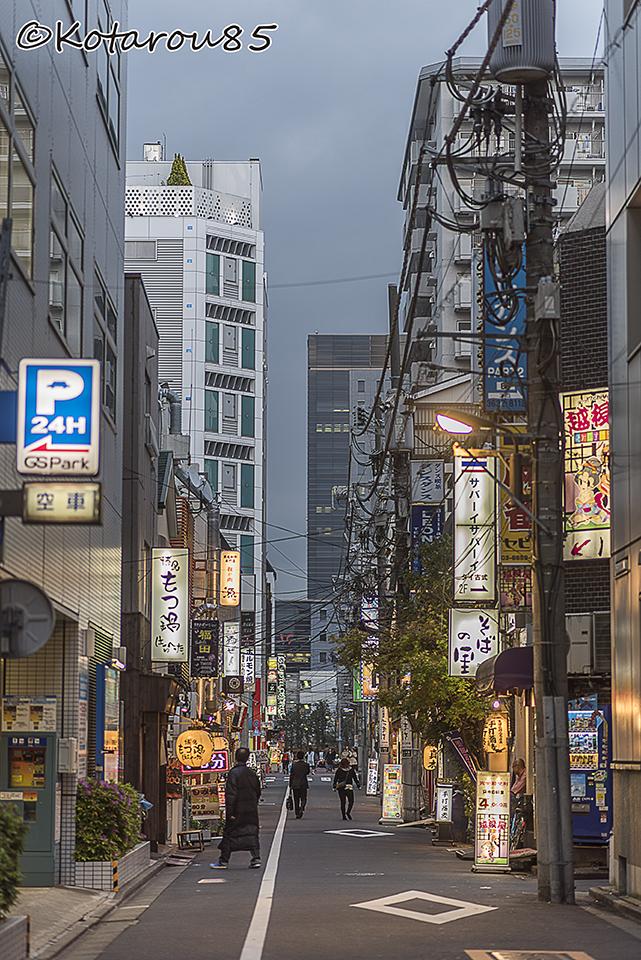 錦糸町の歓楽街 20160420