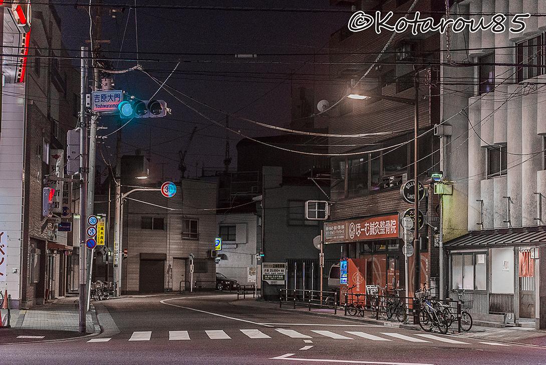 深夜の吉原を歩く その1 (1)