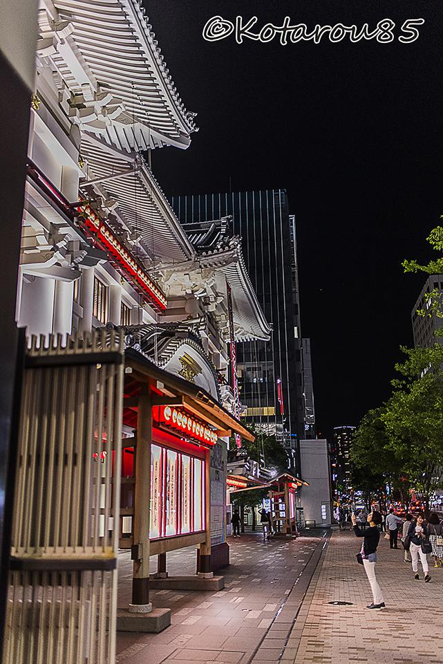 深夜の歌舞伎座3 20160516