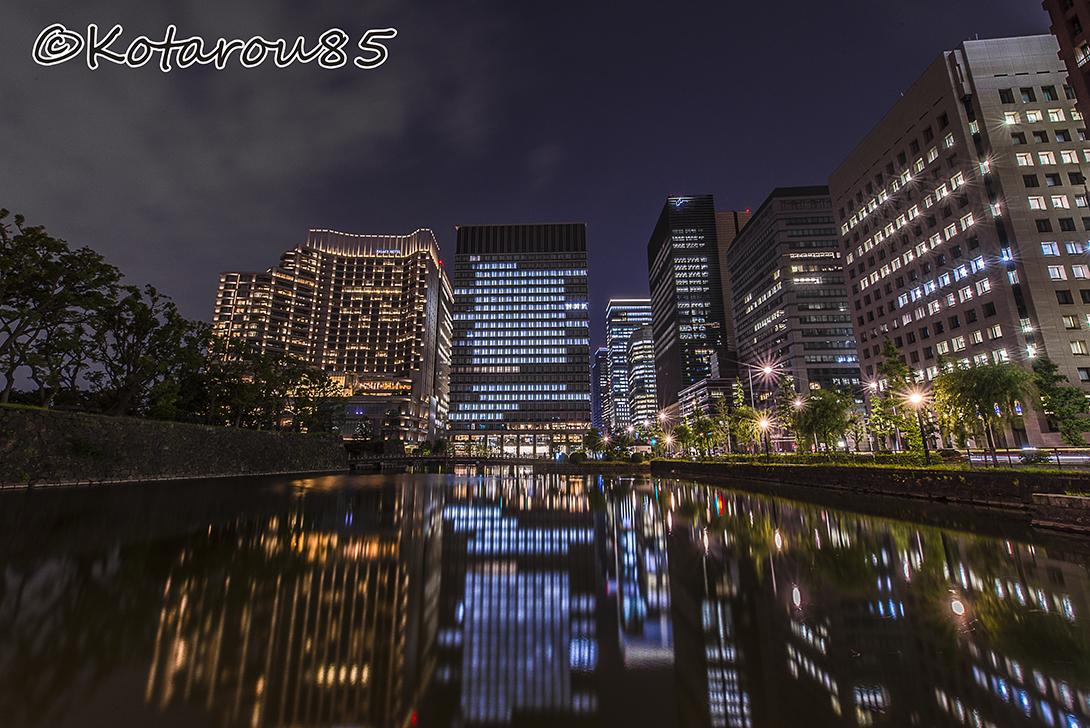 大手町水景 20160607