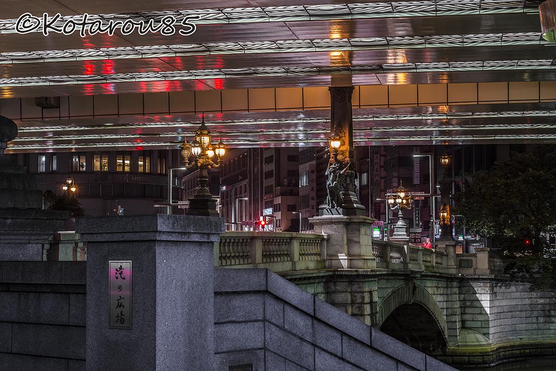 梅雨の日本橋 20160618