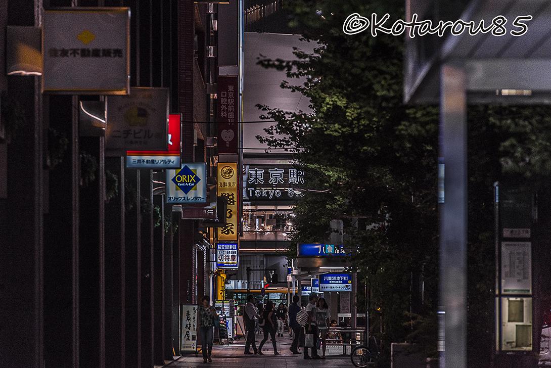 3連休初日の東京駅 20160717