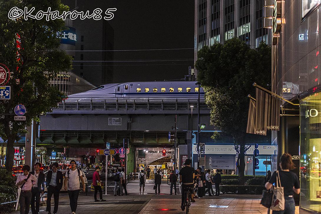 3連休の新幹線 20160718
