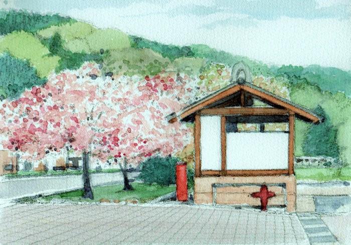 勝央町に咲く桜 (700x490)