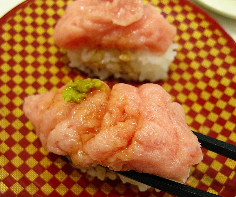 2015_12_31黒川:魚べい- (24まぐろたたき盛り)