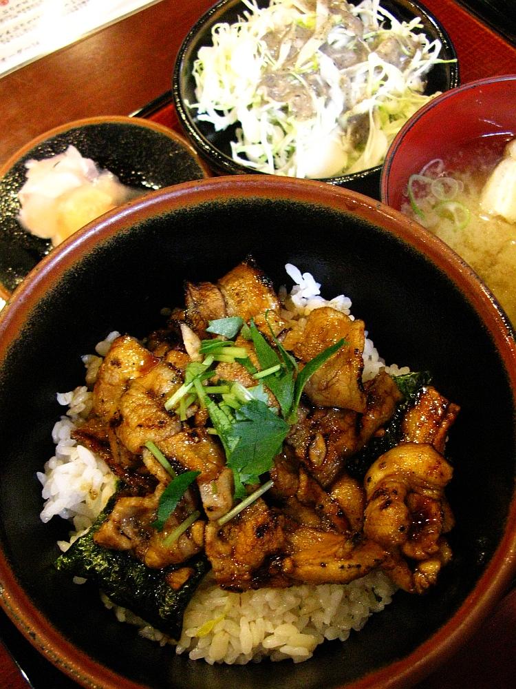 2015_06_11伏見:炭焼ぶた丼 豚郎- (22A)