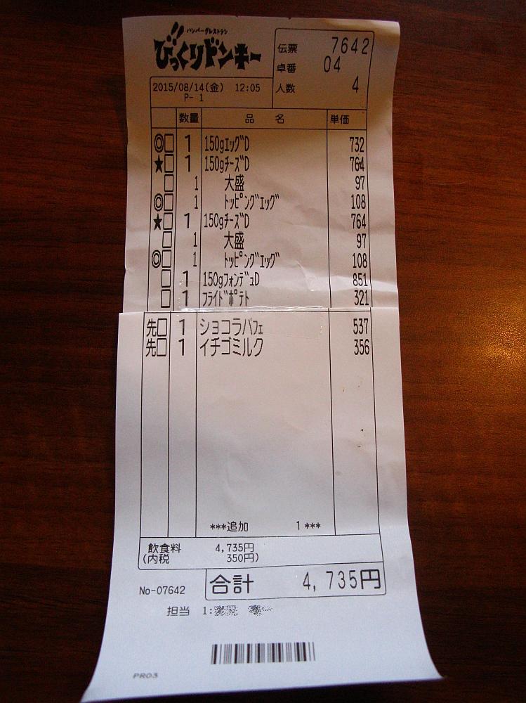 2015_08_14蟹江:びっくりドンキー- (69)