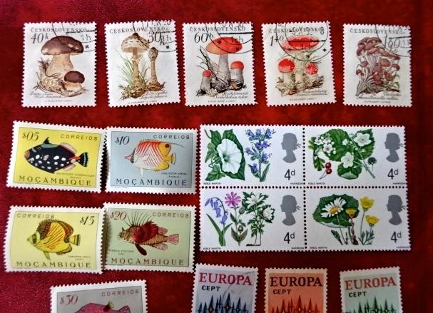 チェコきのこ切手