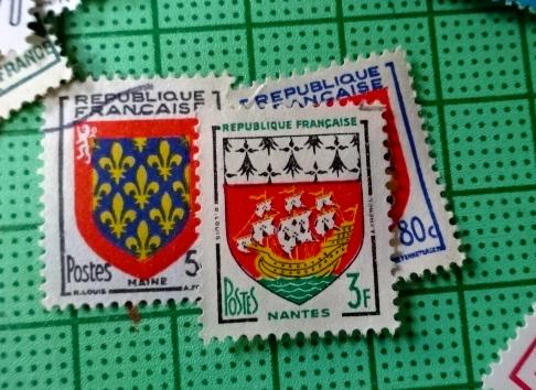 フランス紋章切手new