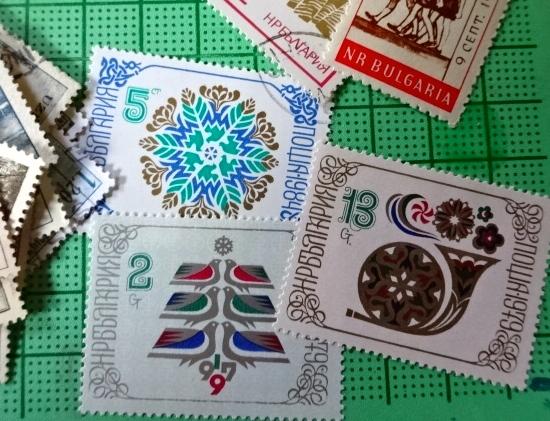 ブルガリア新年切手new