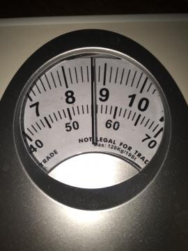 3月末体重