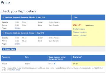 航空券と税金