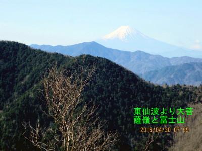 11.東仙波から大菩薩嶺と富士山_1