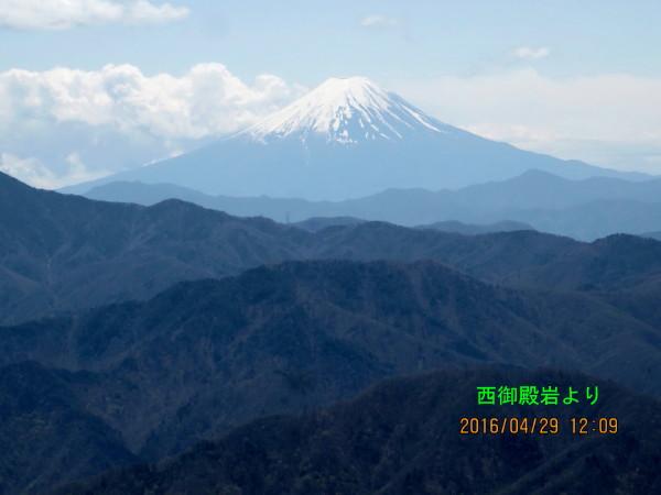 5.西御殿岩より富士山_2