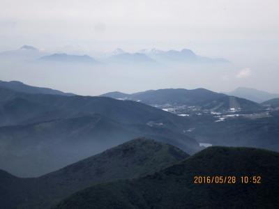 妙高山・火打山・焼山・雨飾山方面