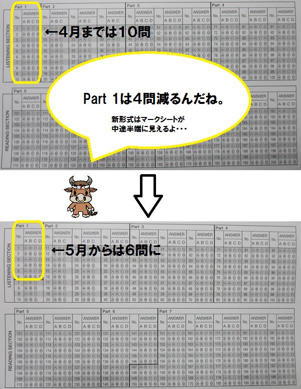 新形式マークシートPart 1