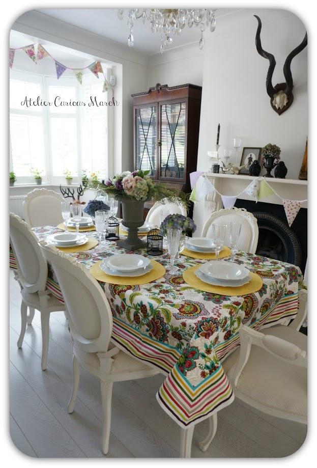 夏色テーブルコーディネイト1