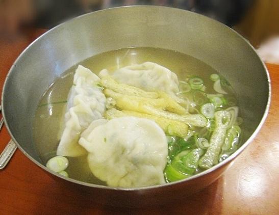 韓国旅行135 ●仁寺洞 餃子