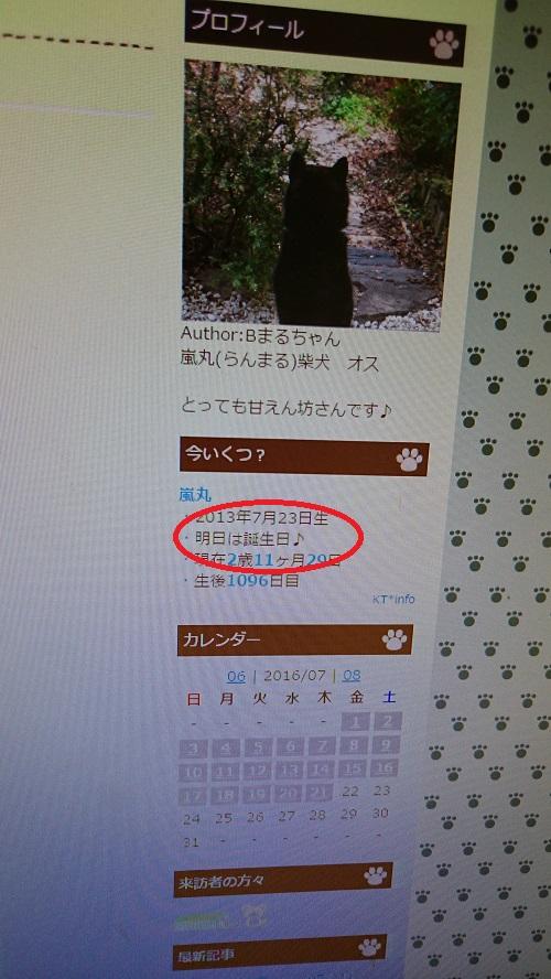 まるちゃん2016072321