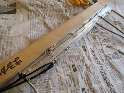 幹糸仮巻き1