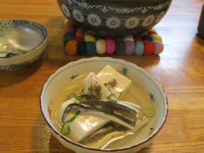 アナゴと豆腐の煮込み鍋4