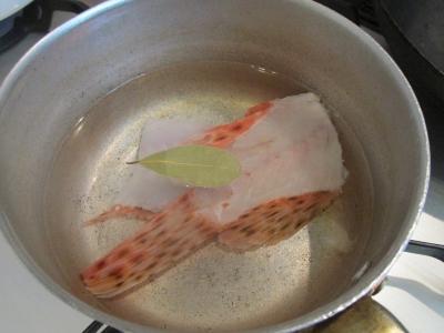 オニカサゴスープ1