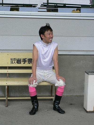 04盛岡にてレース後