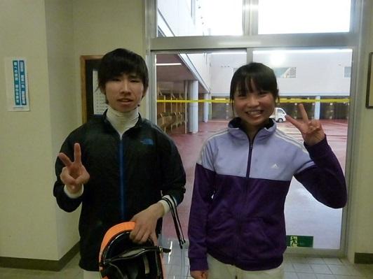 02鈴木麻優騎手と同期