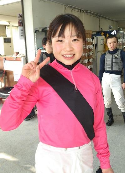 01鈴木麻優騎手、名古屋にて