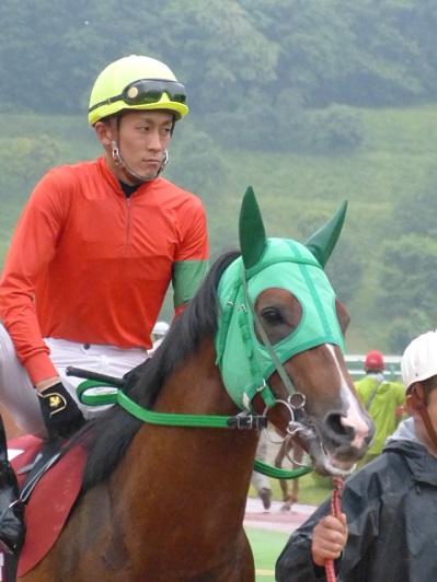 04リーディングが集まるレースで、初めて勝負に絡めた気がすると永森大智騎手