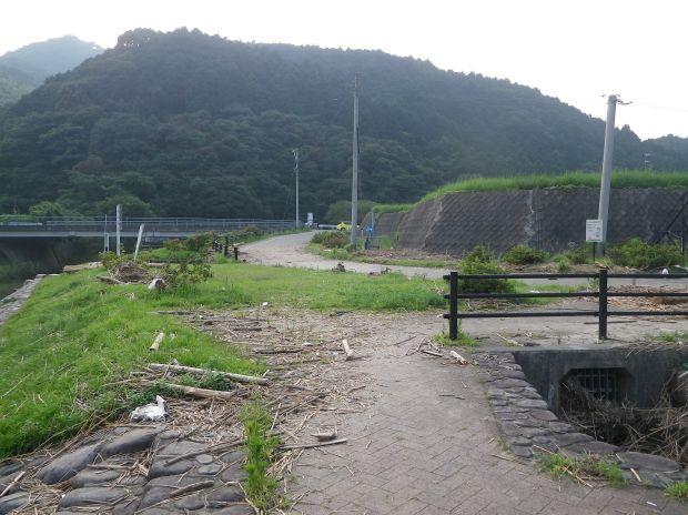 2012年7月の祓川氾濫