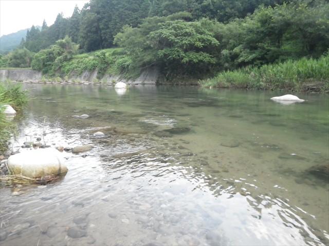 透き通った祓川