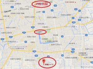 栄城ハイツ_地図