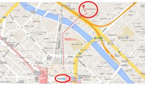 クレストサンナミ_地図