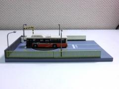 旧竹ノ塚駅西口っぽいバス風景