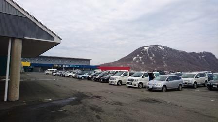 スキー場駐車場