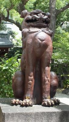 陶器神社04狛